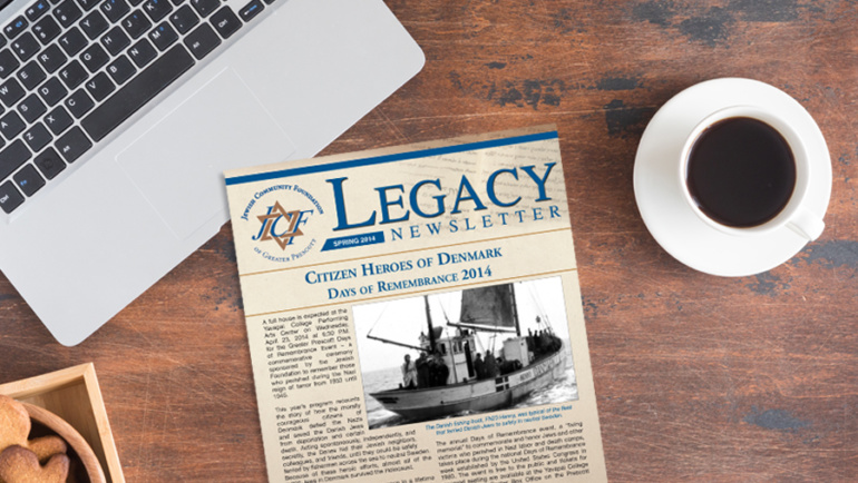 FINAL ISSUE OF THE LEGACY NEWSLETTER